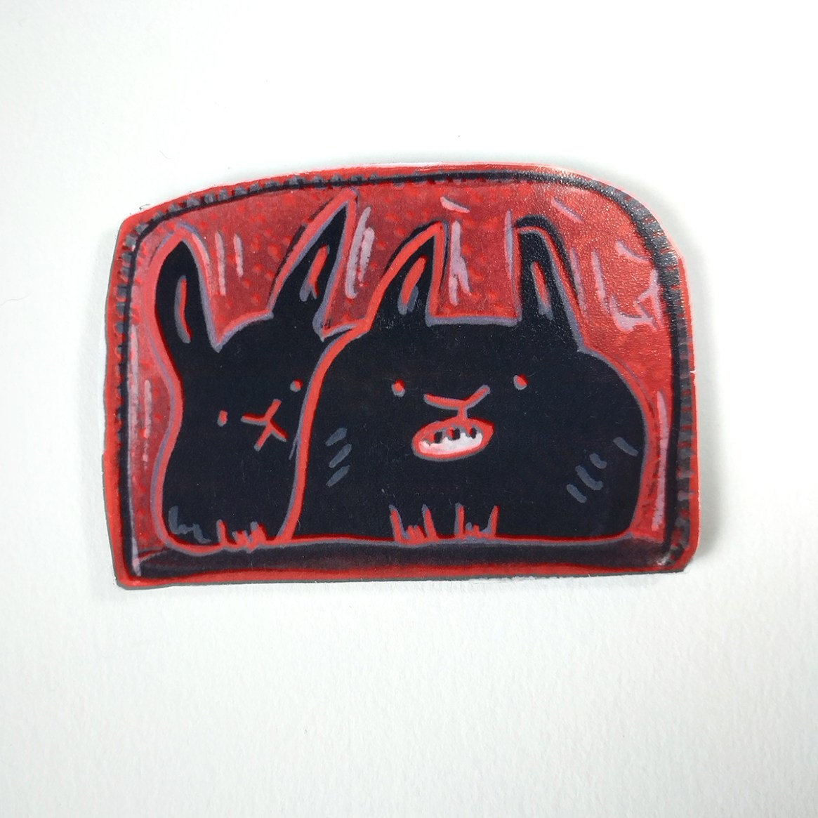 Red Bunny 21 Artie & Beckie - Front