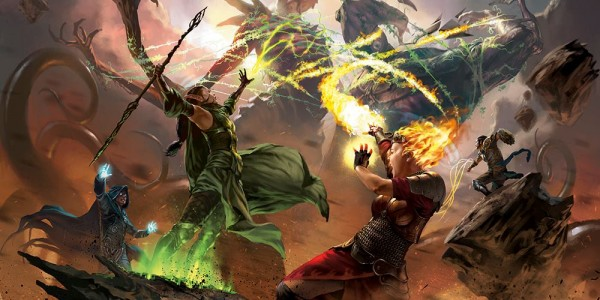 Mythical Creatures In The Fall Wallpaper Oath Of The Gatewatch Mtg Art Art Of Magic The Gathering