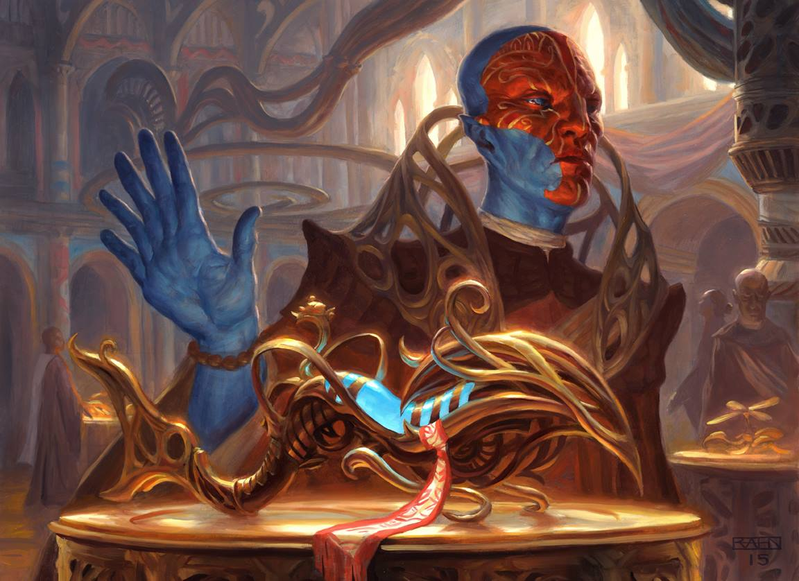 Ceremonious Rejection - Kaladesh MtG Art
