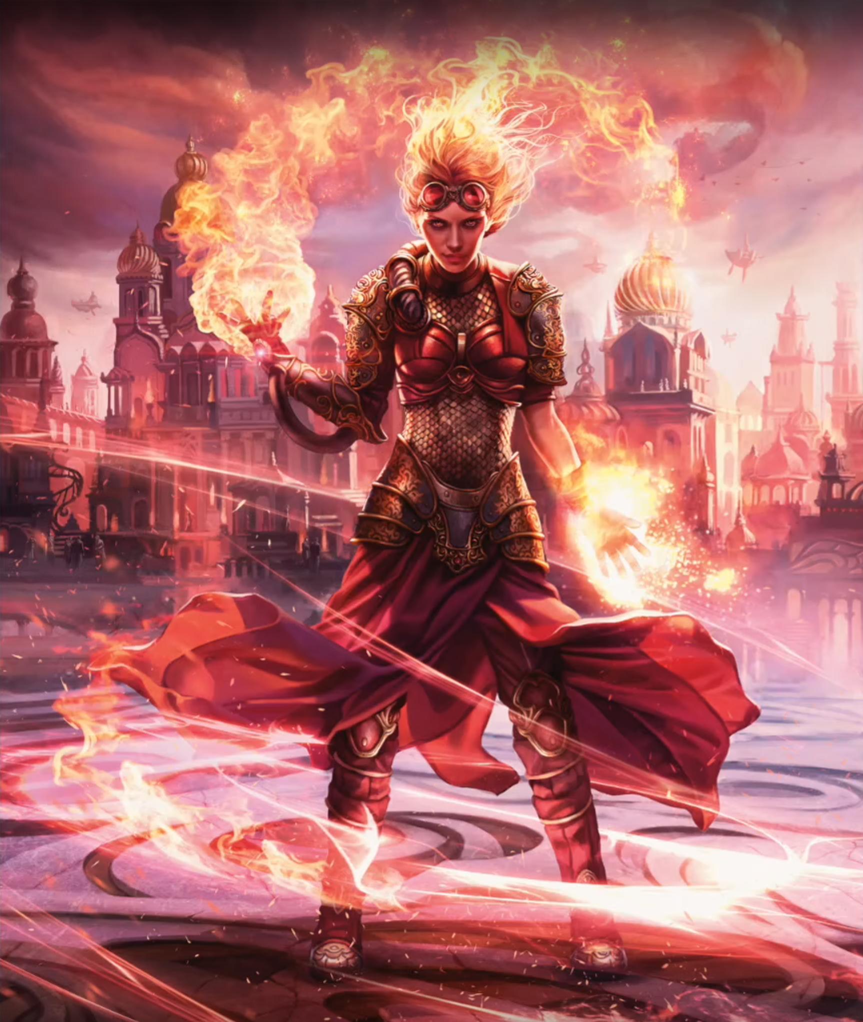 Resultado de imagen de chandra torch of defiance art