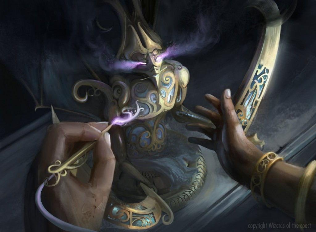 MtG Art Implement Of Malice From Aether Revolt Set By