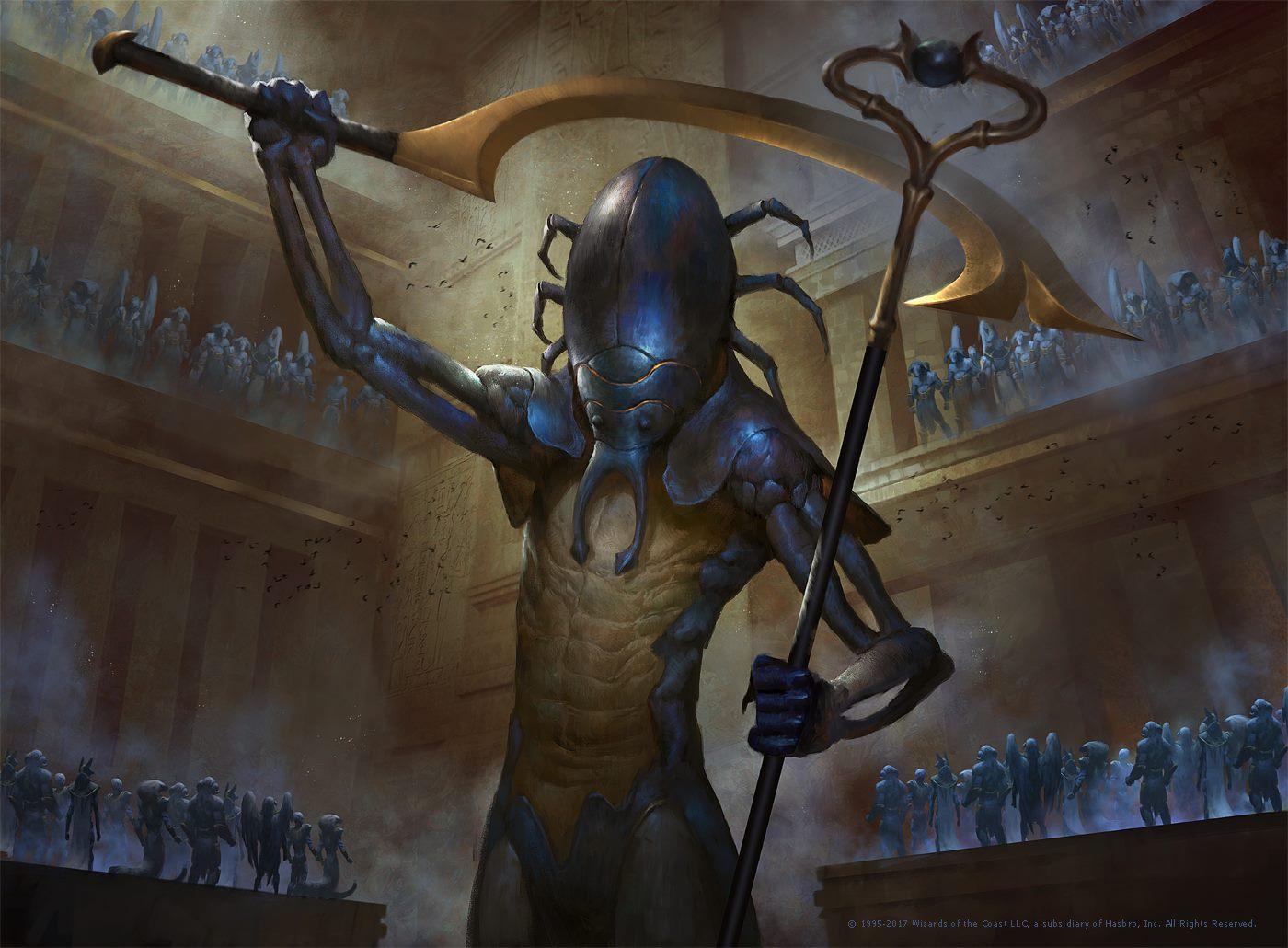Resultado de imagen de mtg the scarab god art