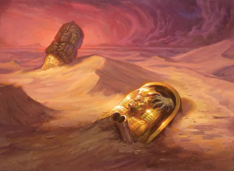 Dunes of the Dead - MtG Art