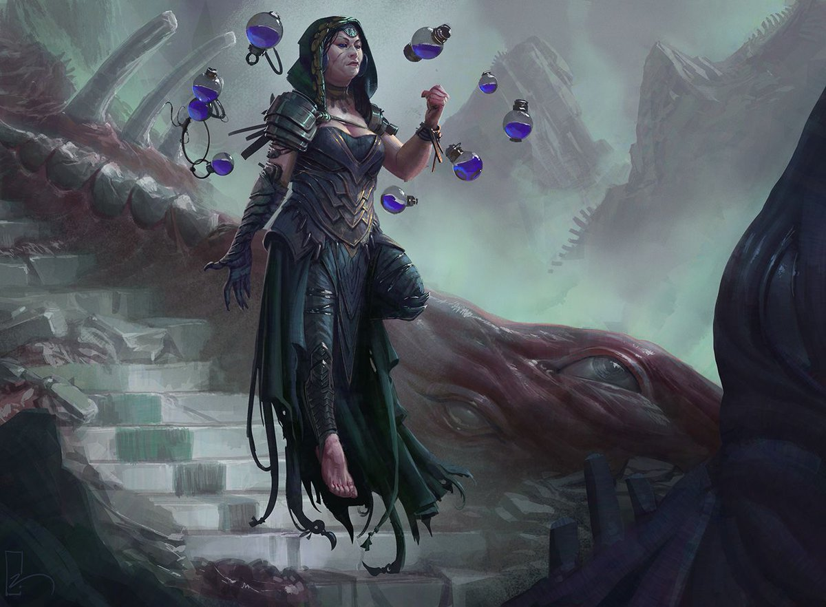 Hooded Goth Girl Wallpaper Mtg Art Kess Dissident Mage From Commander 2017 Set By
