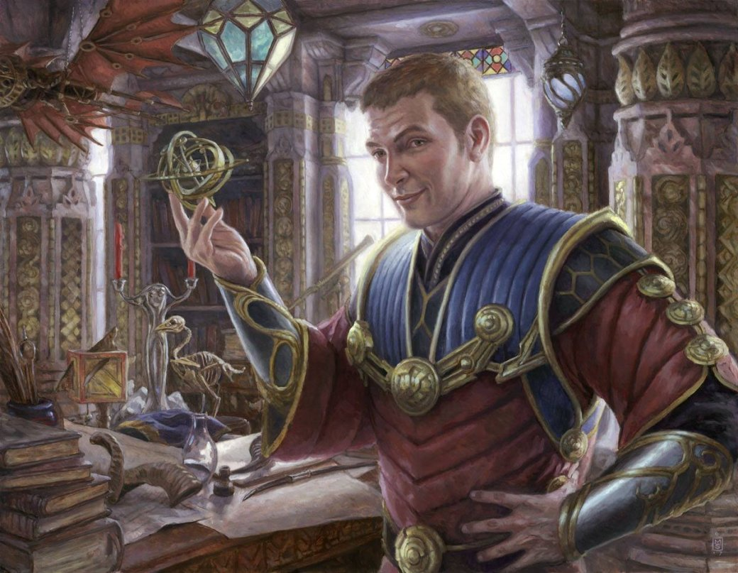 Tawnos, Urza's Apprentice - Commander 2018 MtG Art