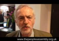 Jeremy Corbyn MP: demonstrate on 21 June – demand the alternative