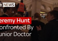 Health Secretary Jeremy Hunt Confronted By Junior Doctor (Feb 2016)