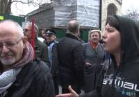 Protest against disabled cuts (March 2016)