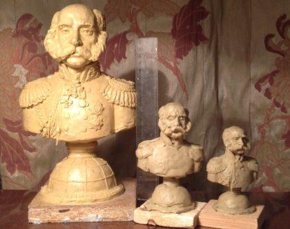 Бюст Ф.П. Литке для Русского Географического Общества