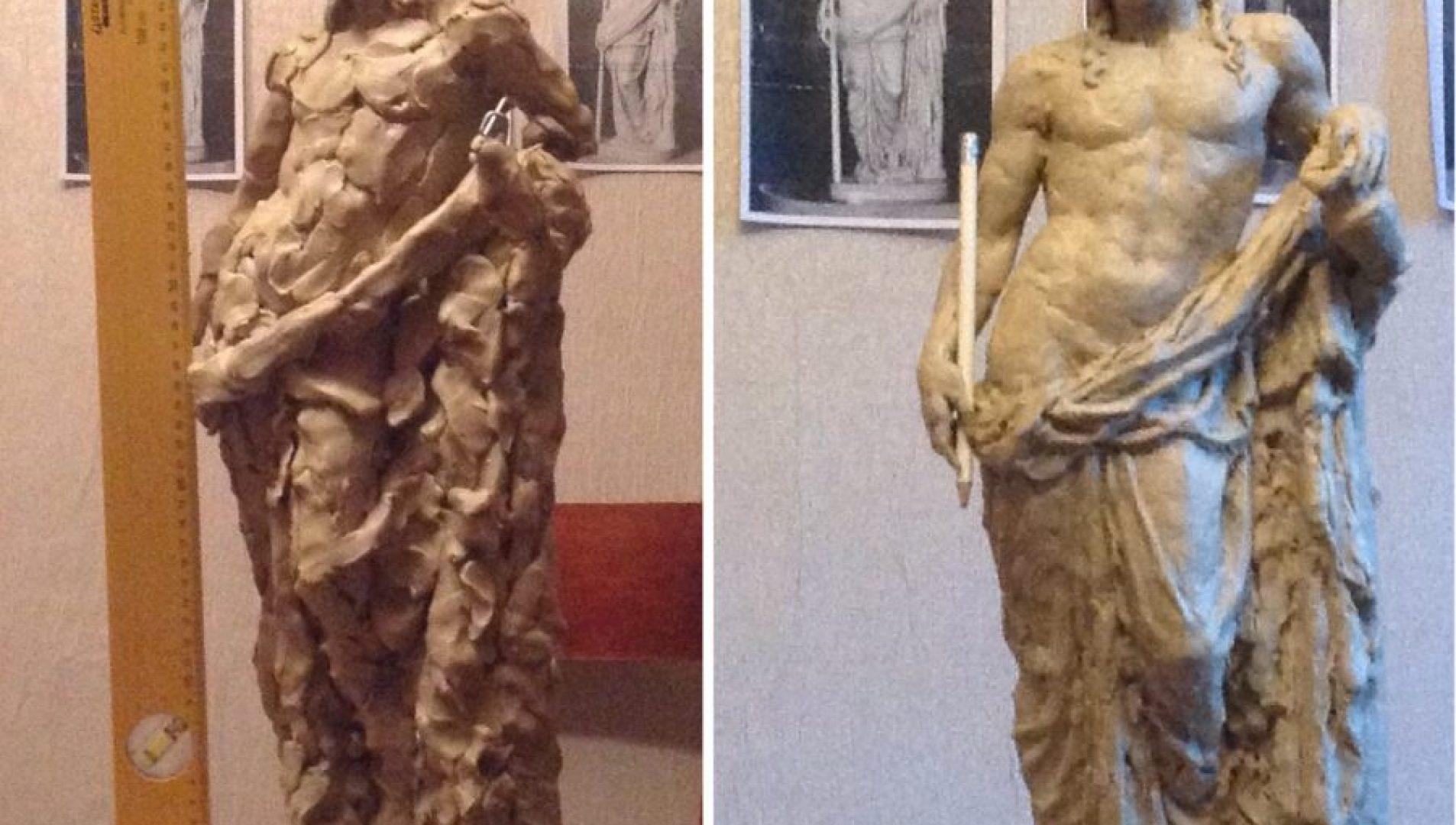 Копия статуи древнегреческого бога Диониса из дворца князя Юсупова