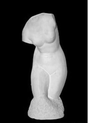 Гипсовый торс Венера