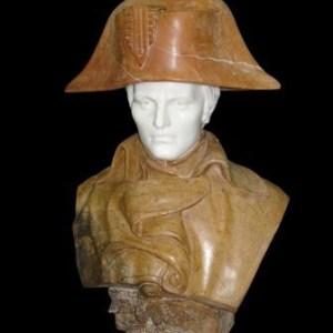 Бюст Наполеона из мрамора