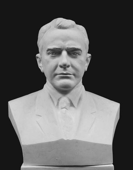 Бюст скульптурный. Физик Рязанский.