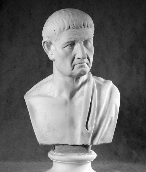 Гипсовый бюст Аристотель