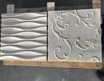 3d панели из мрамора и гранита по эскизу