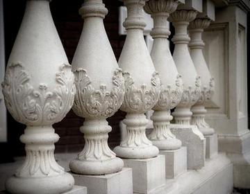 Балясины из камня фото памятники из гранита цена спб донецк