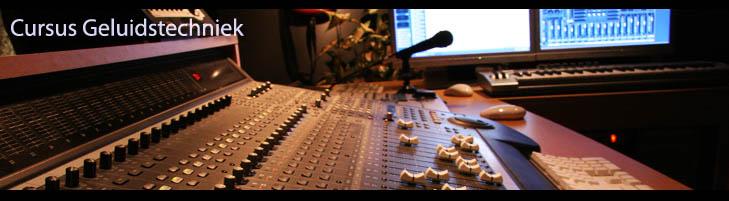 Cursus geluidstechniek
