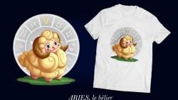 Signes du zodiaque, le bélier Aries
