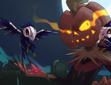 Two new illustrations for Halloween