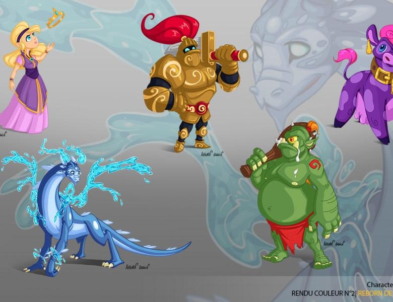 5 illustrations de personnages à découvrir