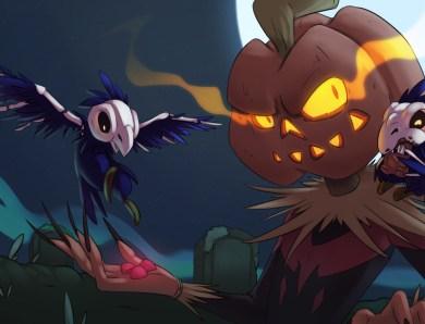 Deux nouvelles illustrations pour Halloween