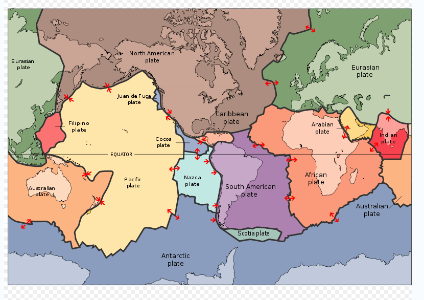 an analysis of the plate tectonic theory And, while the plate tectonic theory helps to explain phenomenon such as  volcanoes and  the site also includes maps, images and sample analysis  questions.