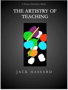 Figure 1.  A new eBook on the artistry of teaching available as a Kindle edition.