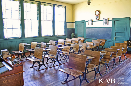 """Creative Commons Allensworth Classroom by Joseph Vasquez  CC By 2.0"