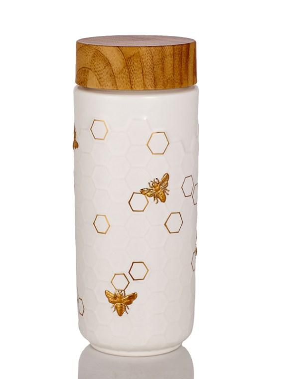 Honey-Bee-Travel-Mug-white-gold
