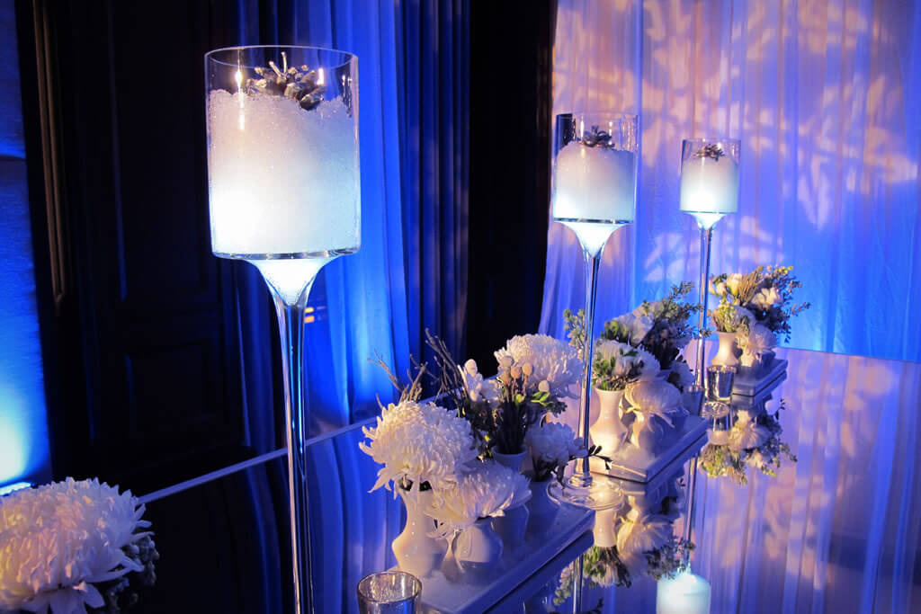 Winter Wonderland Themed Holiday Party