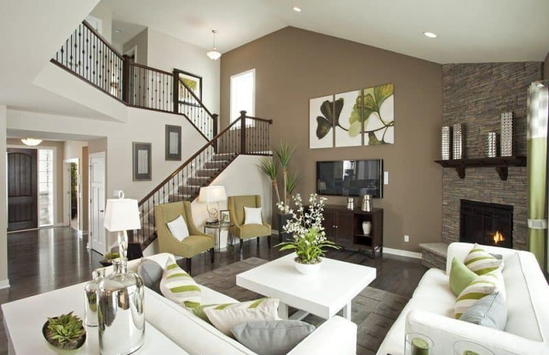 Beautiful Living Room Ideas with Accent Walls  Art of the Home
