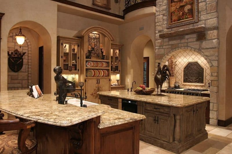JawDropping Granite Countertop Kitchen Ideas  Art of the Home