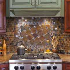 Kitchen Glass Tile Backsplash Aid Accessories 7 Beautiful Ideas • Art Of The Home