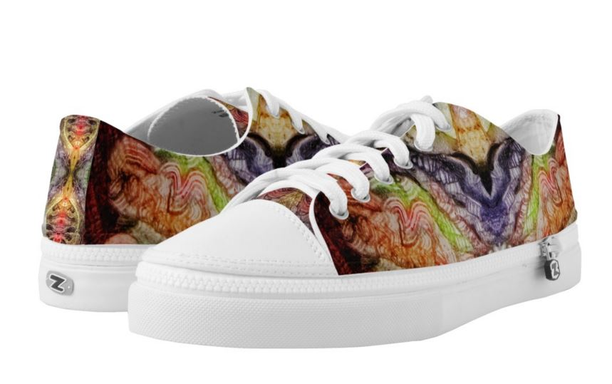 HORROR VACUI 2 PRINTED SHOES