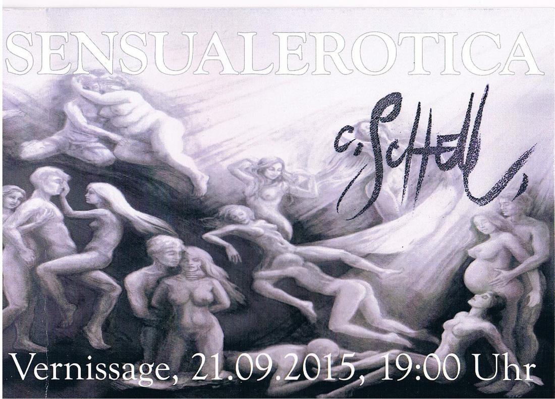CAROLINE SCHELL SENSUALEROTICA Bilder und Skulpturen