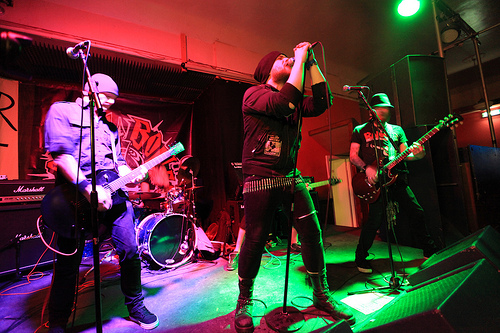 Defcon Zero punk band - Another Winter of Discontent 2013