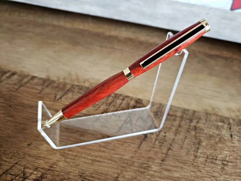 Bloodwood Woodturned Pen