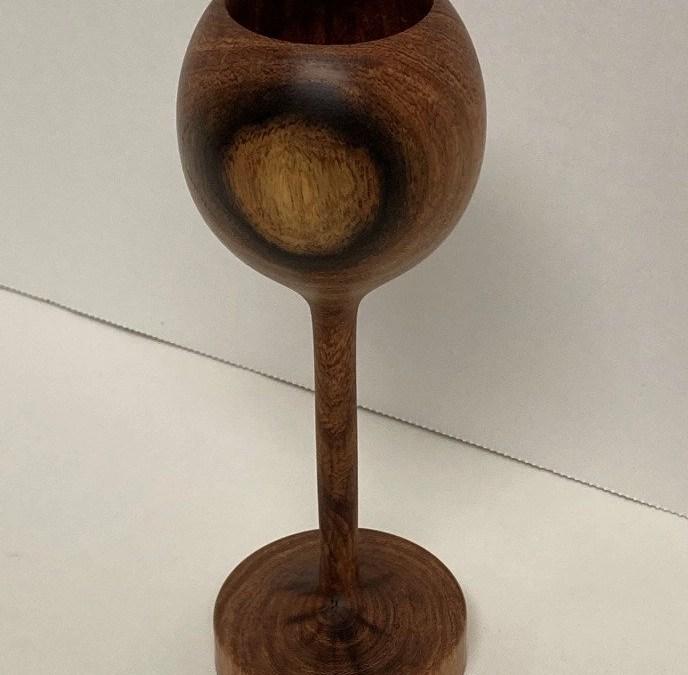 Wood Turned Goblet