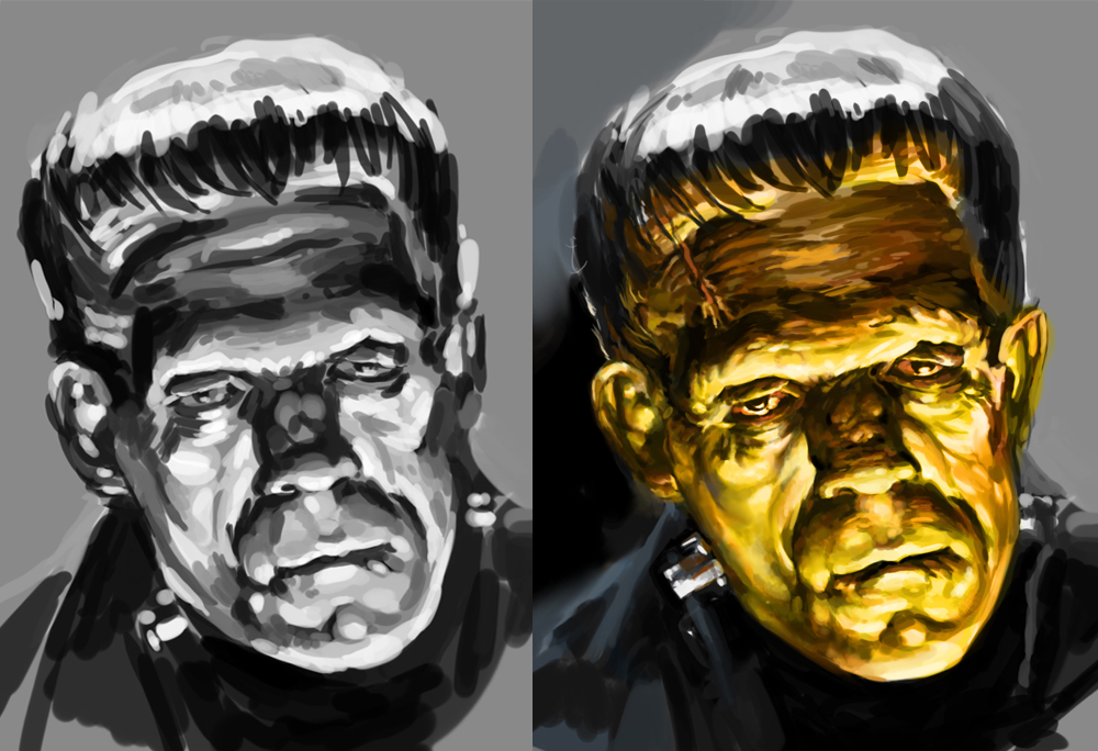 Famous Frankenstein Paintings