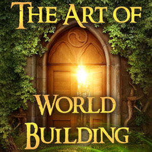 Art of World Building Podcast Logo