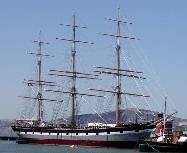 Figure 48 Ship with Three Masts