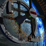 Figure 60 Rotating Space Station