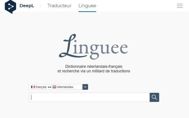 Linguee - 4 beste gratis vertaaltools.
