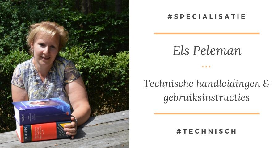 Hoe vertaal ik technische teksten - Els Peleman
