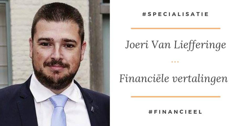 Financiële vertalingen - Joeri Van Liefferinge