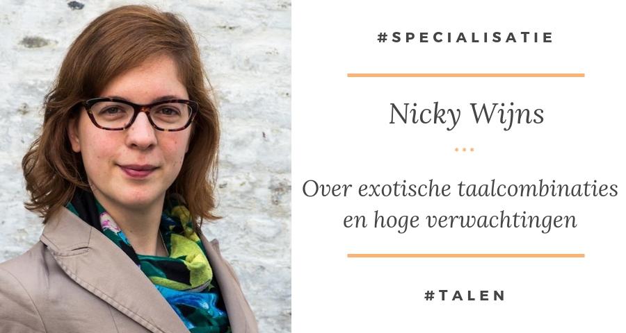 Exotische taalcombinaties - Nicky Wijns