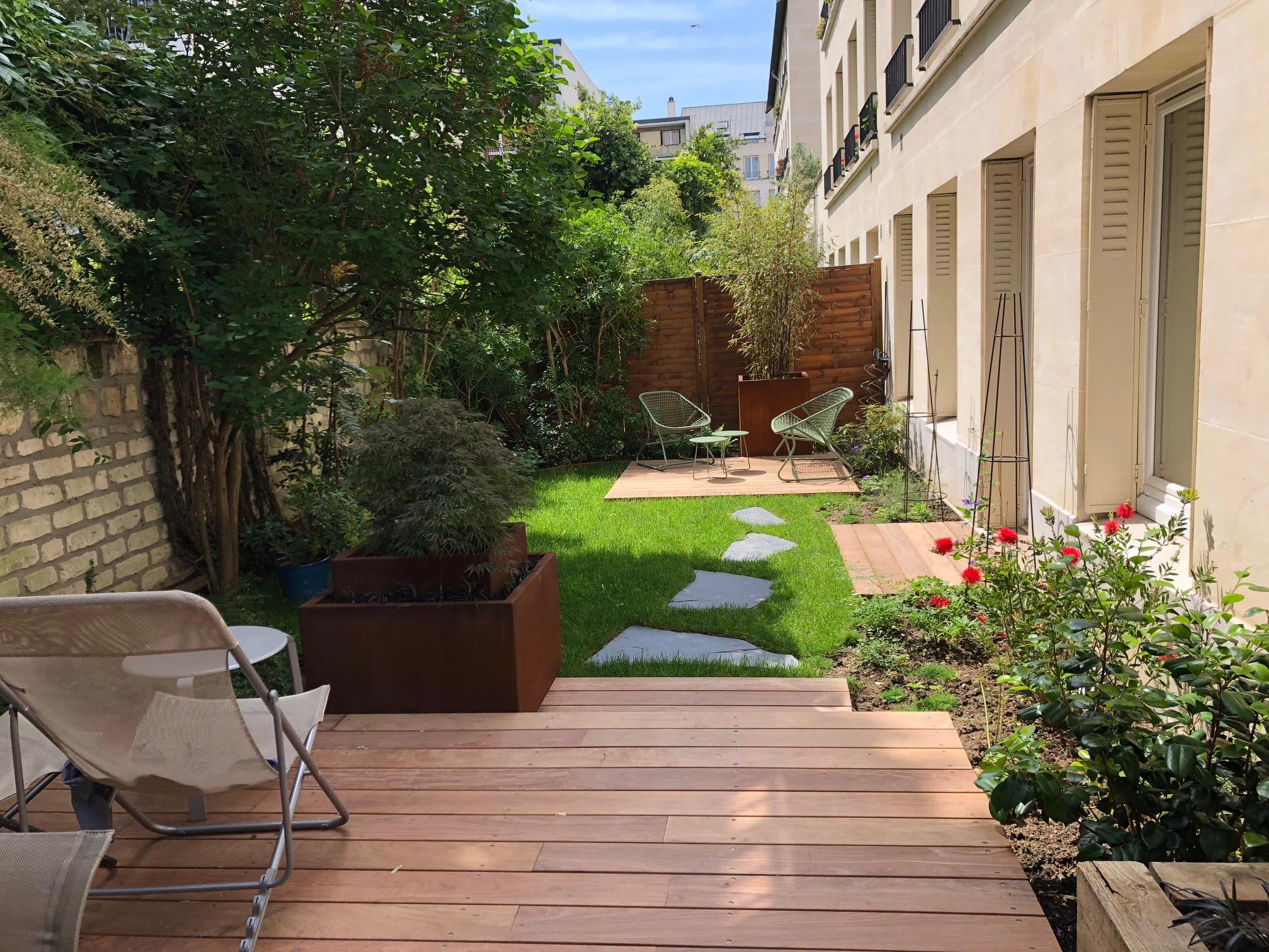 terrasse Paris paysagistes en ligne