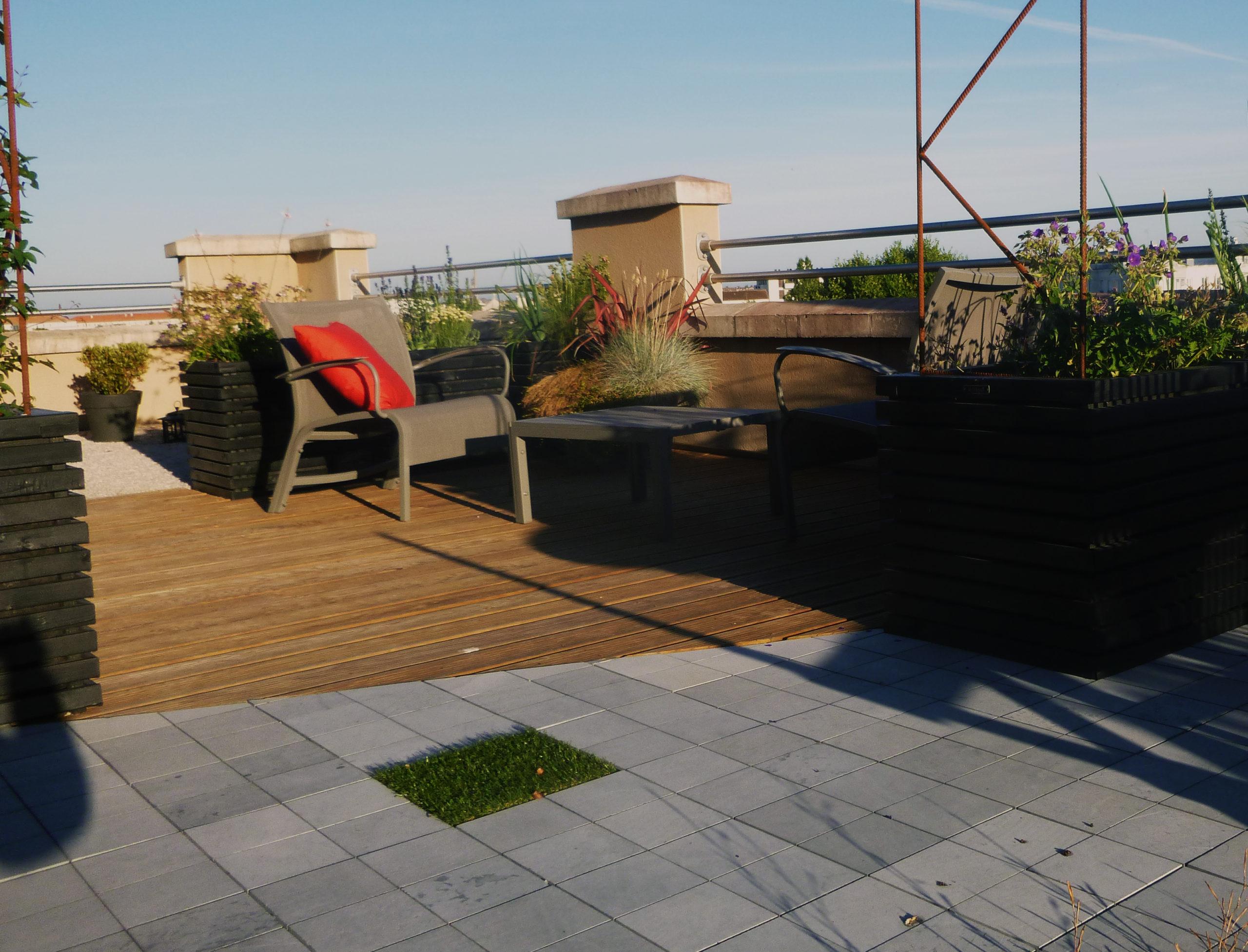 aménager une terrasse gironde