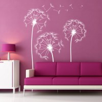 Dandelion Flowers Wall Decal