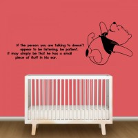 Winnie The Pooh Nursery Wall Decor - By Artollo